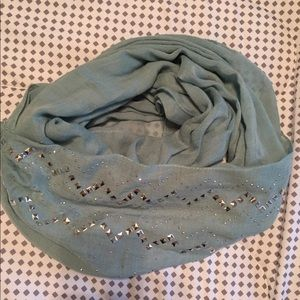 Accessories - Light teal infinity scarf